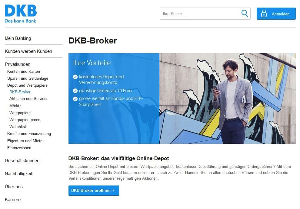 Website des DKB
