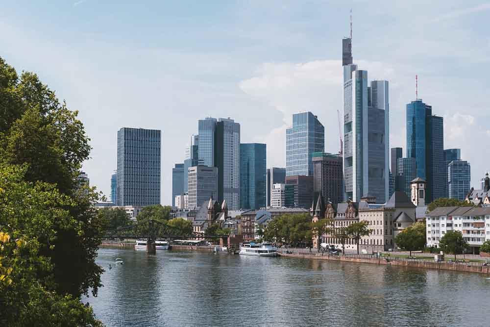 Bankenviertel, Frankfurt