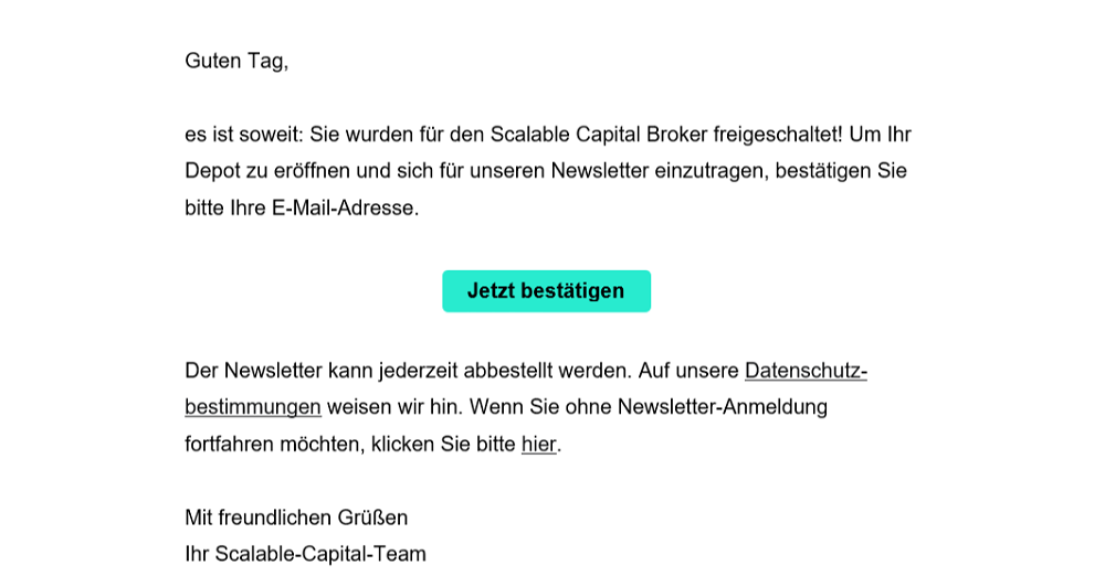 Scalable Capital Neo Broker Kontoeröffnung