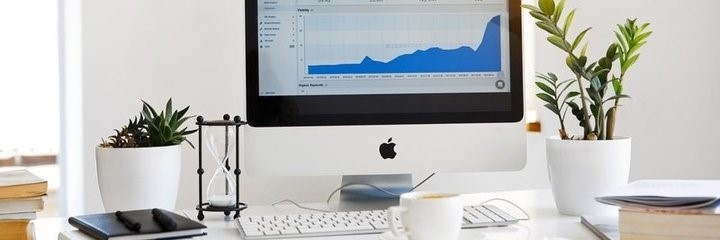 Apple Computer Schreibtisch - Halbe Aktien kaufen