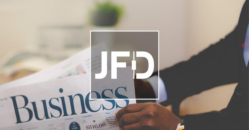JFD Logo - Beste STP Broker