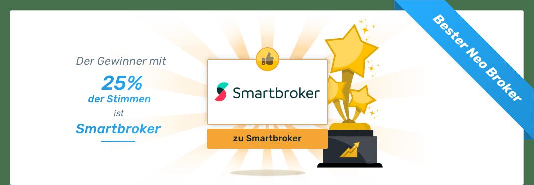 Gesamtsieger - Beste ETF Broker - Smartbroker