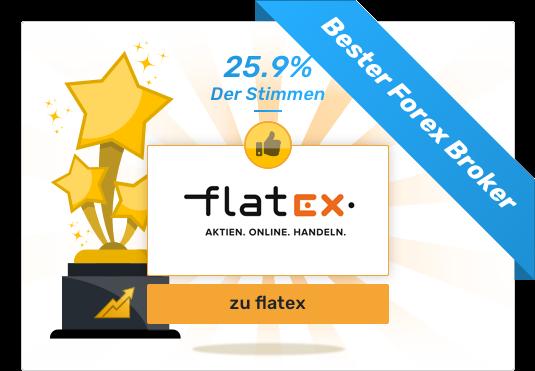 Gesamtsieger - Bester Forex Broker - flatex