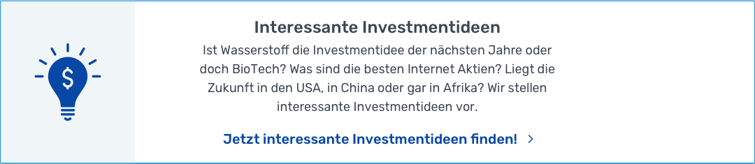 Investmentideen Button