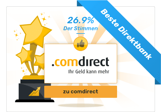 Gesamtsieger - Beste Direktbank - comdirect