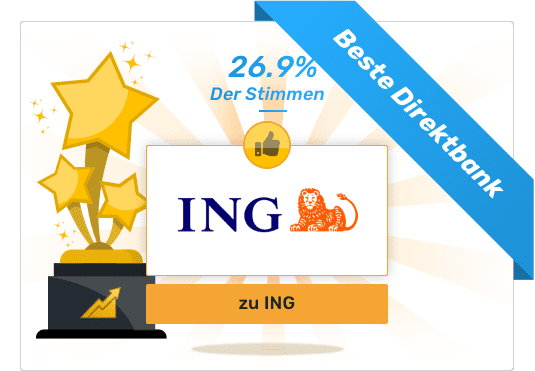 Gesamtsieger - Beste Direktbank - ING