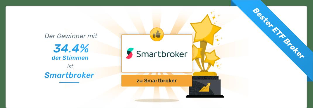 Gesamtsieger - Beste Neo Broker - Smartbroker