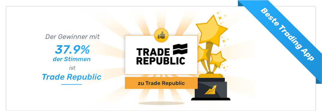 Gesamtsieger - Beste Trading App - Trade Republic