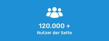 Über 120.000 Nutzer