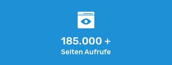 Über 185.000 Seitenaufrufe