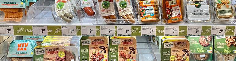 Vegane Aktien: Fleischersatzprodukte und pflanzliches Fleisch