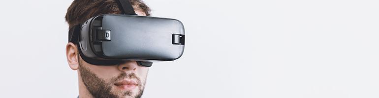 Virtuelle Realität - VR Beitragsbild